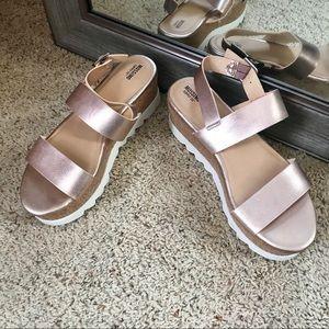 Mossimo Platform Sandals NWOT